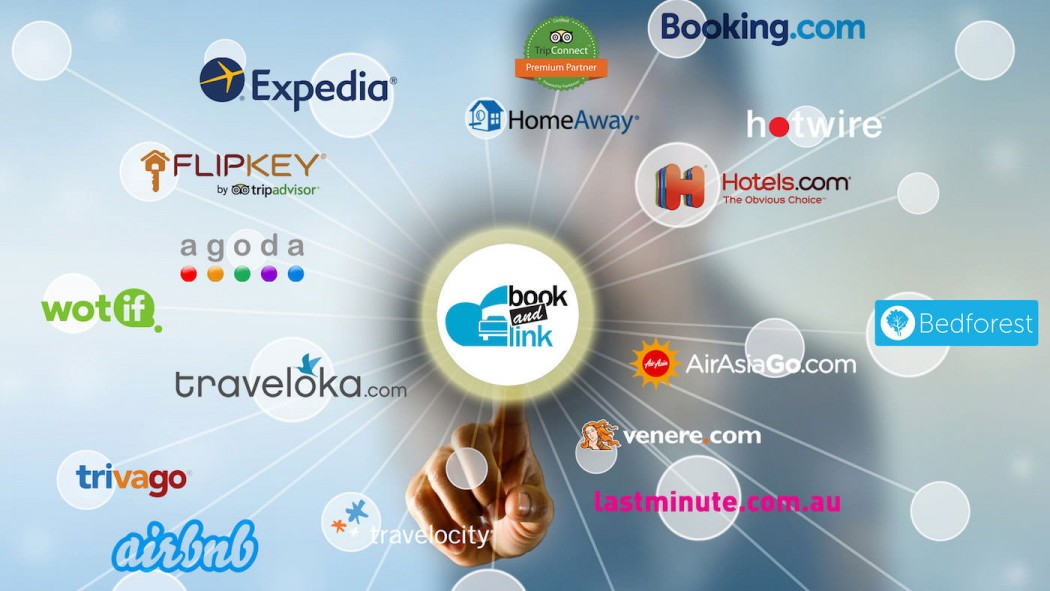 book and link channel manager