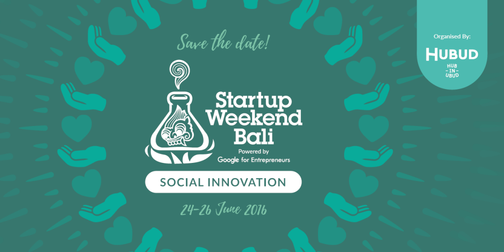 Startup Weekend Bali Social Innovation